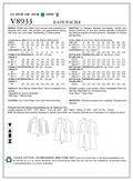 Vogue Patterns Misses Outerwear-V8933