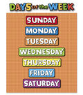 Busy Kids Learning Large Classroom Chart-Days of the Week