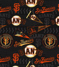 San Francisco Giants Cotton Fabric 58\u0022-Vintage