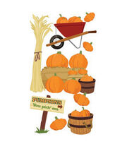 Jolee's Boutique Le Grande Dimensional Sticker-Pumpkin Pickin', , hi-res