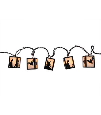 Maker's Halloween 10 Count Lantern String Lights