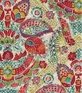 Williamsburg Print Fabric-Byzantine Damask/Bejeweled
