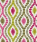 Home Decor 8\u0022x8\u0022 Fabric Swatch-Waverly Optical Delights Jazzberry