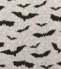 Doodles Halloween Interlock Cotton Fabric 57\u0022-Bats