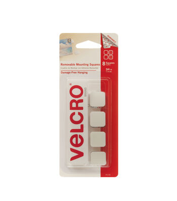 VELCRO® Brand Removable Mounting Squares