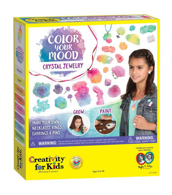 Creativity for Kids Color Your Mood Crystal Jewelry Kit