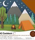 American Crafts Variety Cardstock Pack 12\u0022X12\u0022-Earthtones