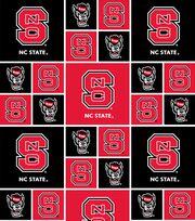 "North Carolina State Wolfpack Cotton Fabric 44""-Block, , hi-res"