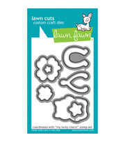Lawn Fawn Lawn Cuts Custom Craft Die -My Lucky Charm, , hi-res