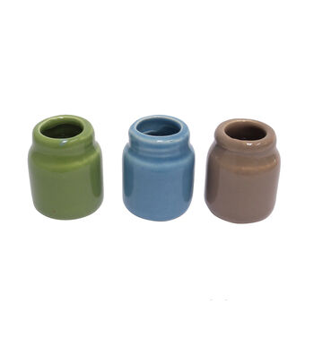 Bloom Room Littles Pack of 3 Clay Pot