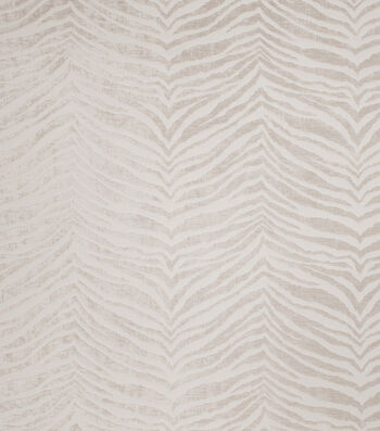"Eaton Square Print Fabric 56""-Ring/Ecru"