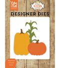 Echo Park Dies-Pumpkins & Corn Stalk