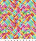 Hi Fashion Premium Quilt Fabric 44\u0022-Crosshatch