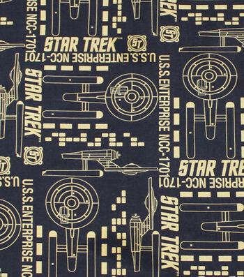 "Star Trek™ Cotton Fabric 44""-Enterprise"