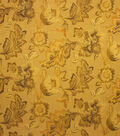 Home Decor 8\u0022x8\u0022 Fabric Swatch-Upholstery Fabric Barrow M8680-5160 Golden