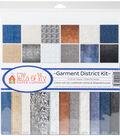 Ella & Viv Collection Kit 12\u0022X12\u0022-Garment District