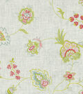Home Decor 8\u0022x8\u0022 Fabric Swatch-Upholstery Fabric-Waverly Crown Jewel/Radish