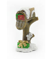Maker's Holiday Christmas Littles 3.25'' Mailbox with Snow, , hi-res