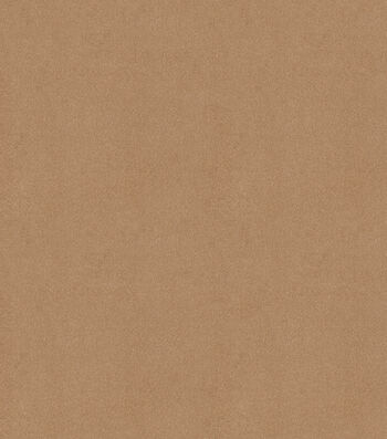 """Signature Series Solid Faux Suede Fabric 58""""-Taupe"""