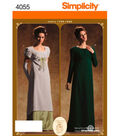 Simplicity Pattern 4055-Misses Gown Costumes
