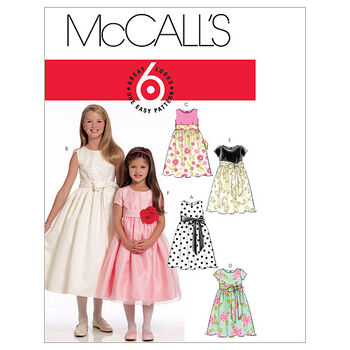 McCall's Girls Special Occasion-M5795