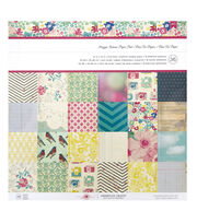 American Crafts™ Maggie Holmes Pack of 36 12''x12'' Paper Pad, , hi-res
