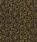 Vintage Cotton Fabric 43\u0022-Scrolling Vines