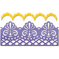 Sizzix Thinlits Die-Damask & Scallop Borders
