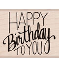 Hero Arts Happy Birthday To You Mounted Rubber Stamp