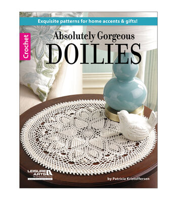 Leisure Arts Absolutely Gorgeous Doilies Pattern Book