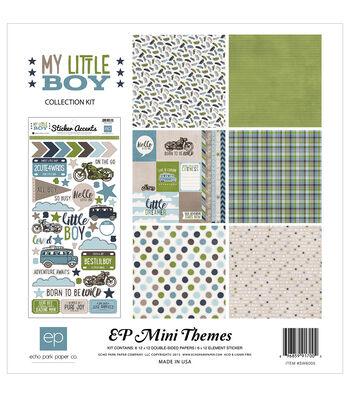 "Echo Park Paper Company™ My Little Boy 12""x12"" Collection Kit"