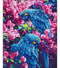 Diamond Embroidery Facet Art Kit 23.5\u0022X17.7\u0022-Blue Parrot