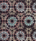 Modern Cotton Fabric 43\u0022-Natural Kaleidoscope