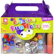 Creativity For Kids Fibre Craft Creative Fun Tote, , hi-res