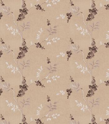 "Eaton Square Print Fabric 51""-Rosehips/Grey"