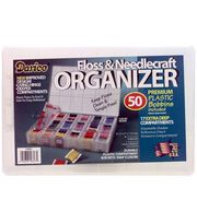 Deep Organizer Box With 50 Plastic Bobbins, , hi-res