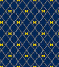 University of Michigan Wolverines Cotton Fabric 44\u0022-Logo