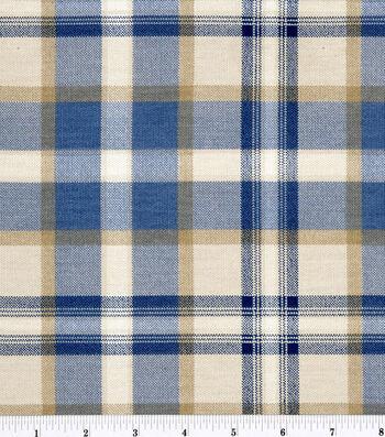 """Home Essentials Print Fabric 45""""-Ethan/Indigo"""