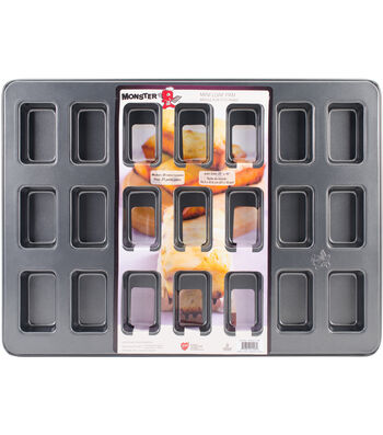 Monster Bakeware 21 Cups 21''x15'' Mini Loaf Pan