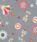 Micro Fleece Fabric 59\u0022-Sweet Floral