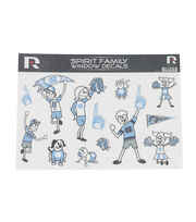 University of North Carolina Rameses Window Decal-Family, , hi-res