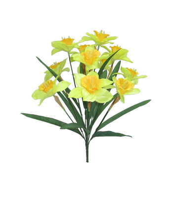 Fresh Picked Spring 18'' Daffodil Bush-Yellow
