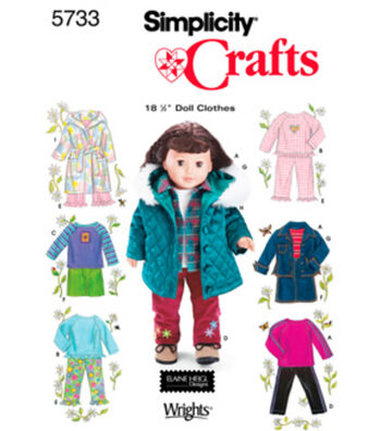 Simplicity Pattern 5733OS One Size -Simplicity Crafts
