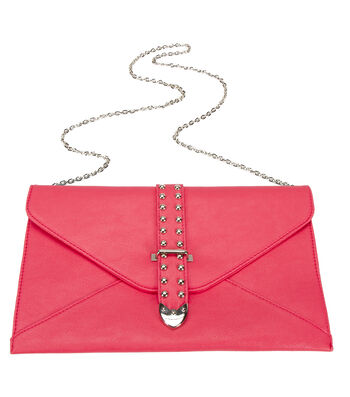 Oxford Street Jewelry Co. Pink Envelope Clutch Purse