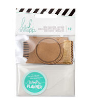 Heidi Swapp Memory Planner 12 Pack Mini Envelopes & Tags, , hi-res