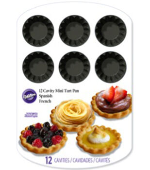 wilton mini tart pan 12 cavity