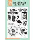 Stamps 4\u0022X6\u0022-Summer Dreams, I Heart Summer