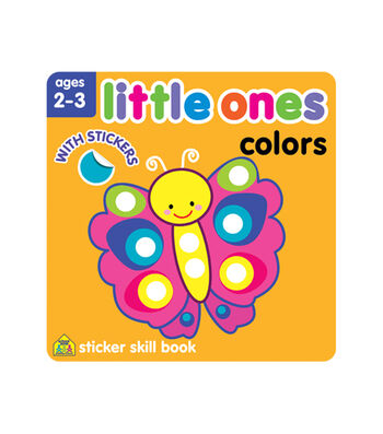 Little Ones Colors Sticker Workbook