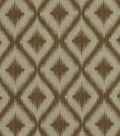 Robert Allen @ Home Upholstery Fabric 54\u0022-Ikat Fret Bronze