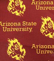"Arizona State University Sun Devils Canvas Fabric 58""-Logo, , hi-res"